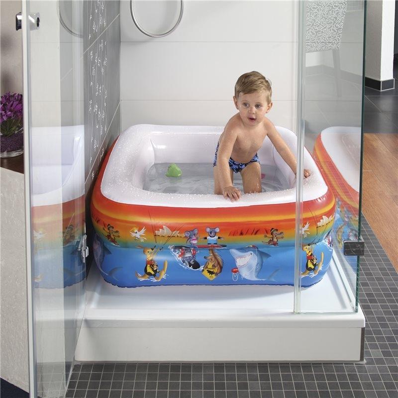 Bazén do sprchového koutu